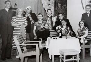 Meripojat maalla 1950